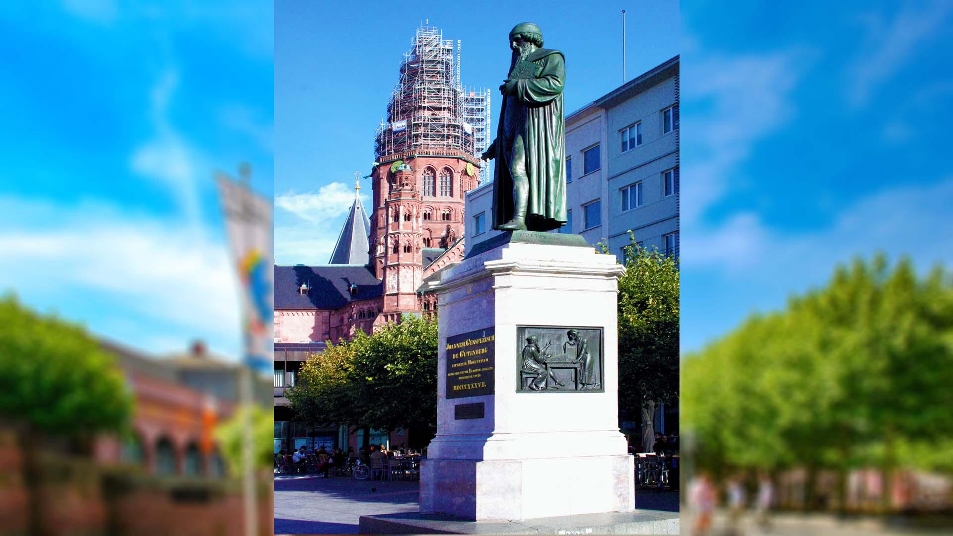Gutenberg-Denkmal, Mainz