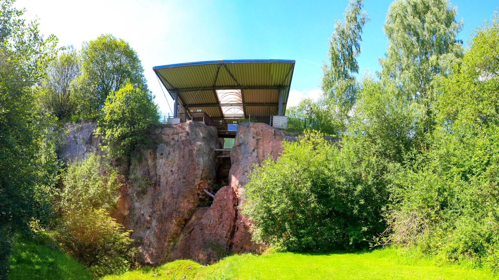 Naturdenkmal Korbacher Spalte