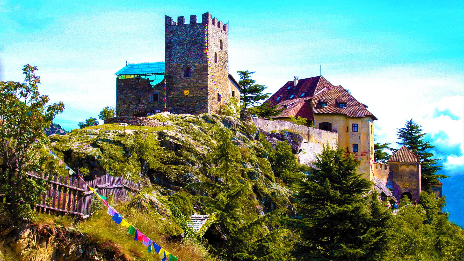 Schloss Juval - Messner Mountain Museum