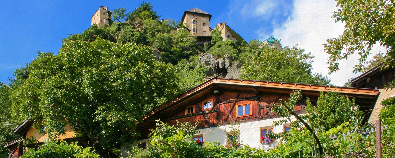 Schloss Juval / Bergbauernhof Oberortl