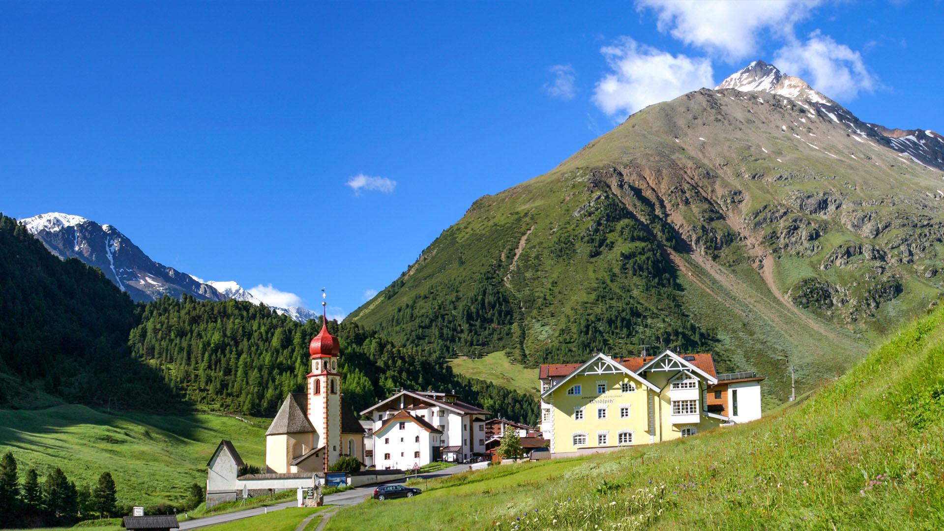Talleitspitze 3.408 m bei Vent