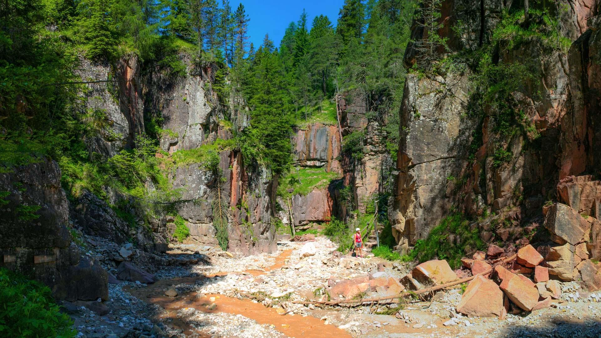 Bletterbachschlucht - der Grand Canyon Südtirols